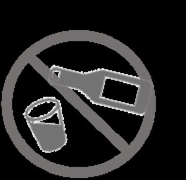 お酌・グラスの共有の禁止