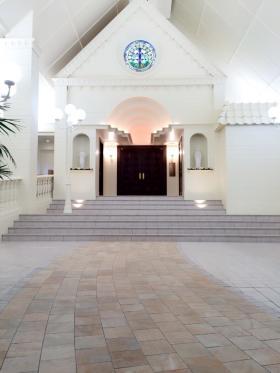 教会前縮小